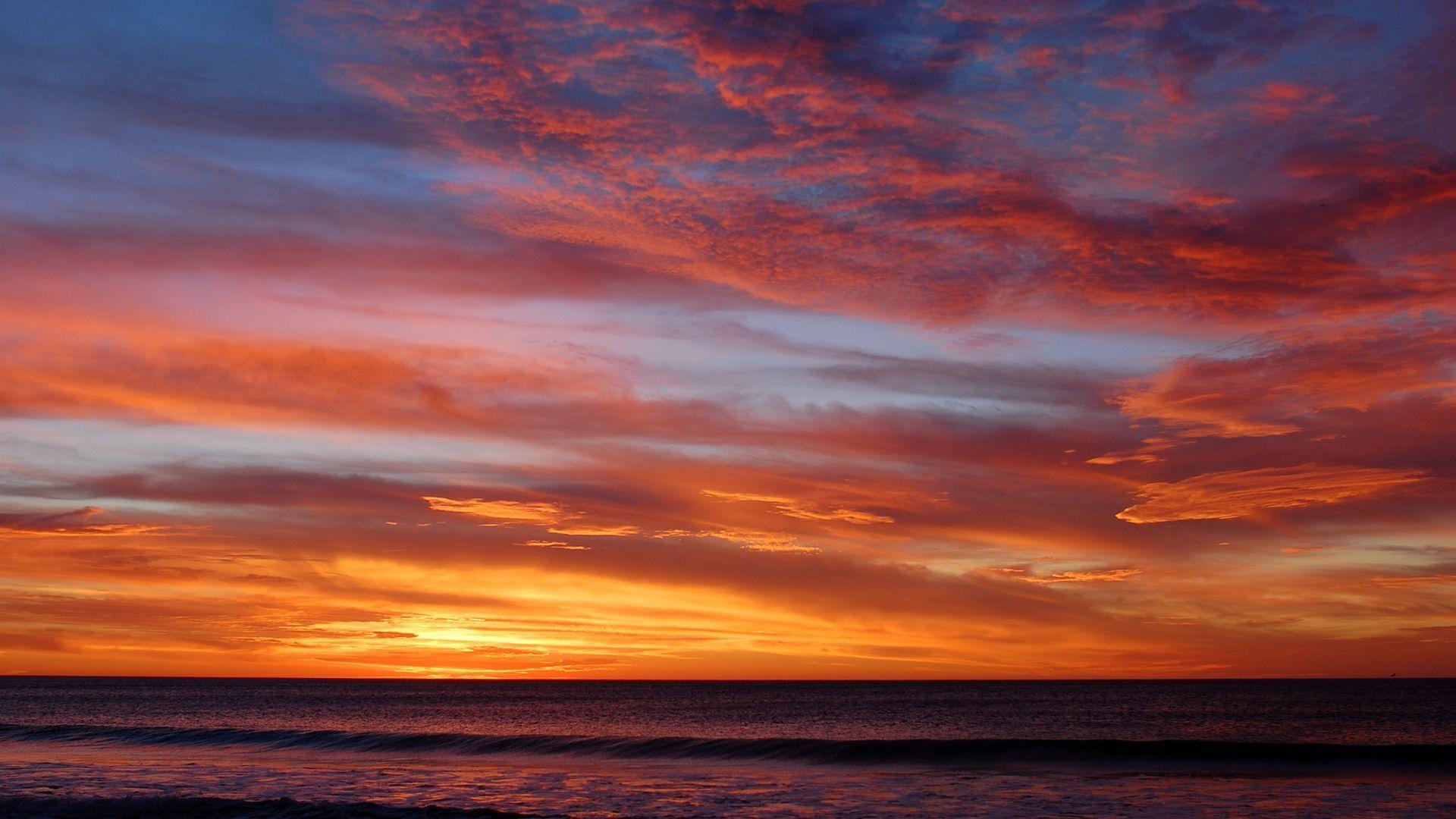 Wallpaper Hd Sunset