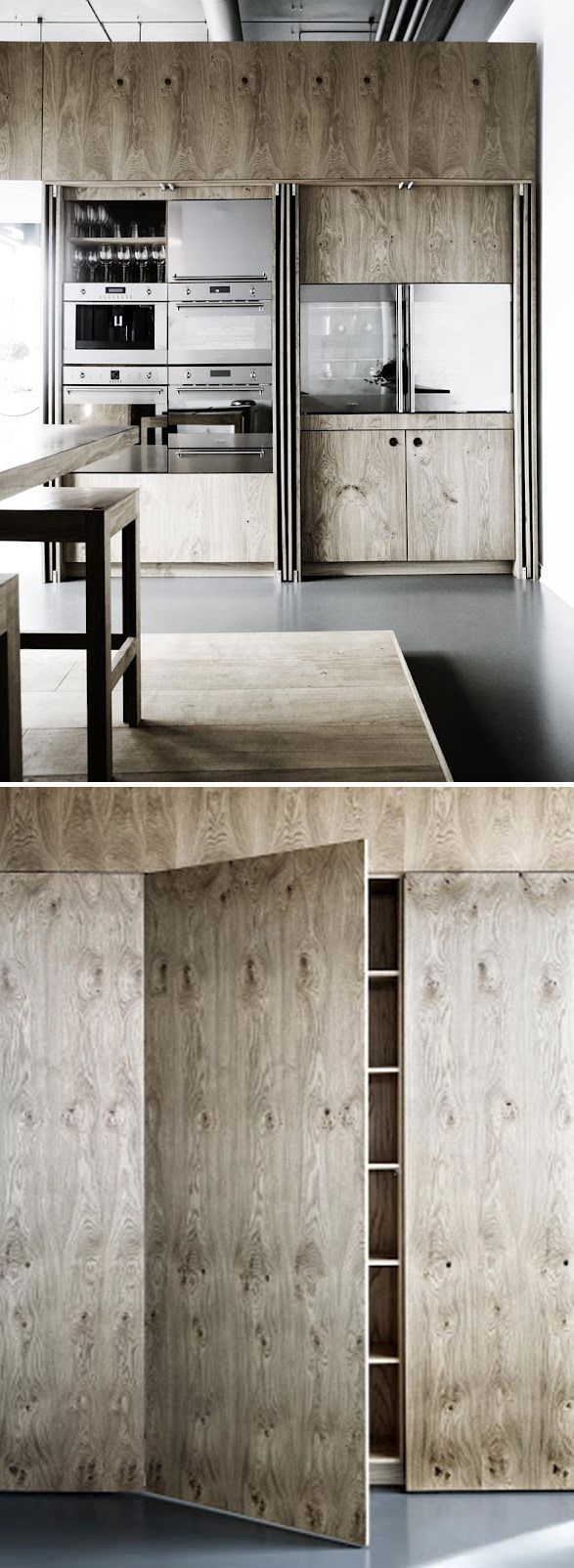 Grey Stained Plywood Cabinet Fronts On Ikea Base Cabinets Make A Clean And Modern Kitchen Wit Pallet Patio Furniture Diy Diy Patio Furniture Basement Furniture