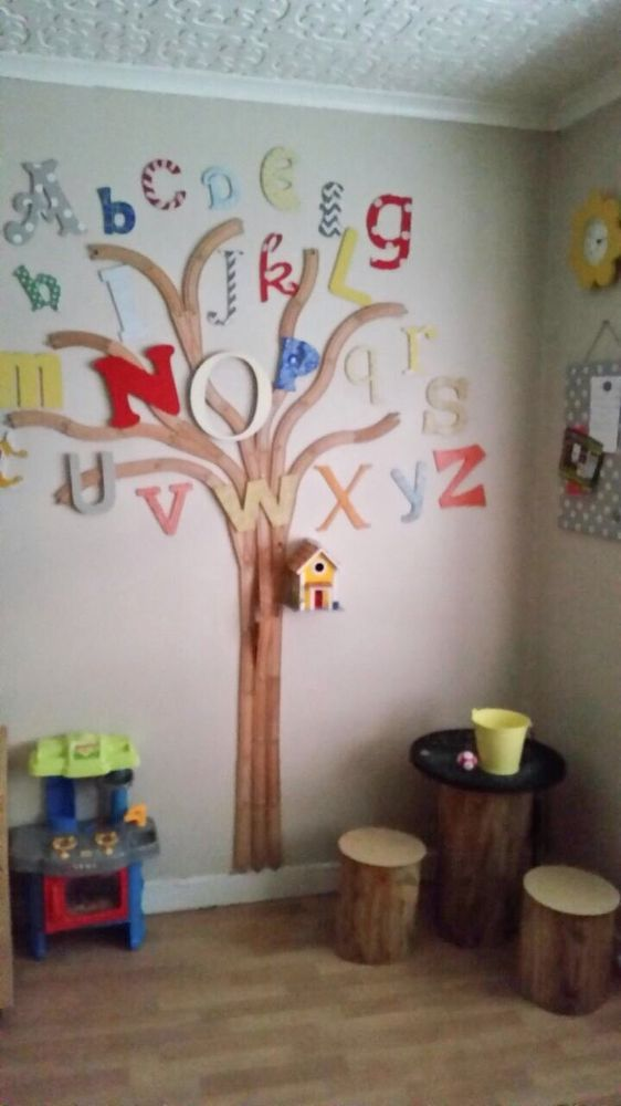 Alphabet Train Track Tree Preschool Decor Diy Classroom