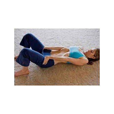 """O exercício """"respiração do estômago vazio"""" fará focar o trabalho físico na região abdominal, precisamente o músculo conhecido como transverso do abdominal."""