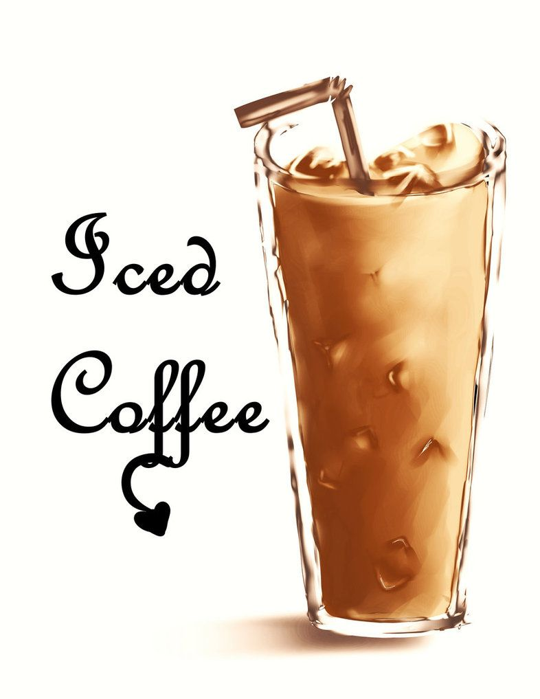 Iced Coffee by SoMiK Iced coffee, Coffee, Vanilla coconut