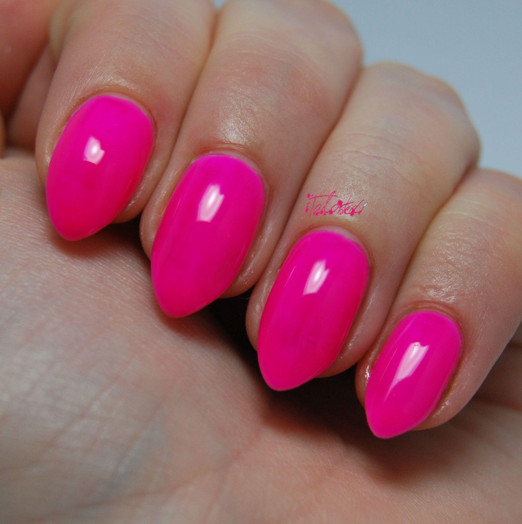 Pacific Rapsodi 12 Nail Varnish   Neon pink nails, Varnishes and ...