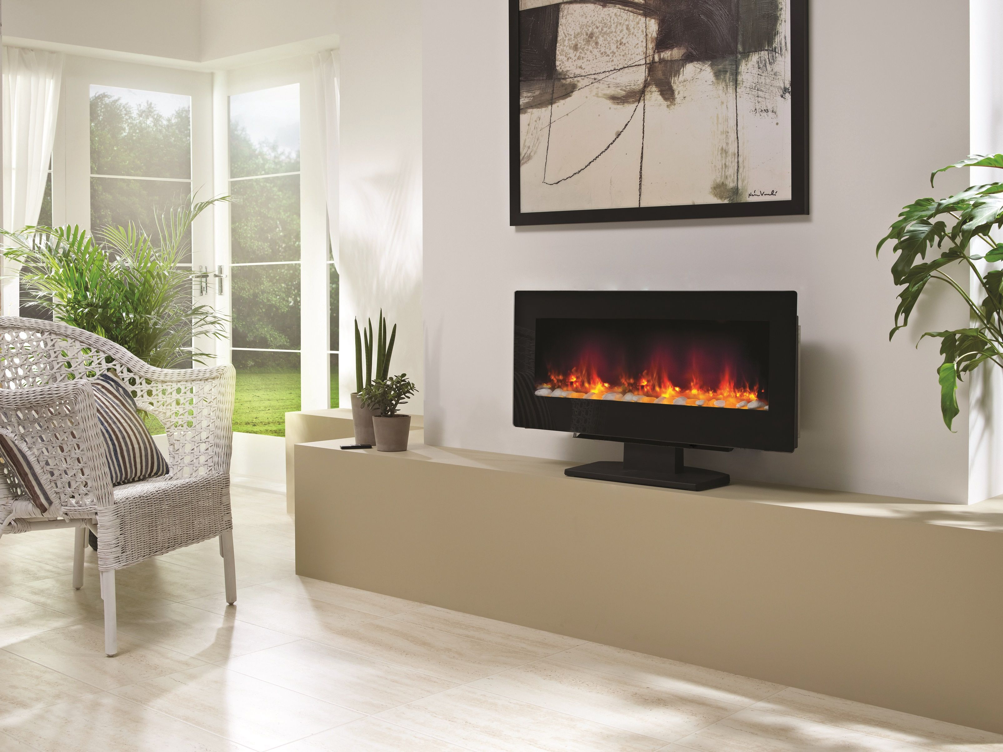 Be Modern Amari Is A Stunning Led Electric Fire That