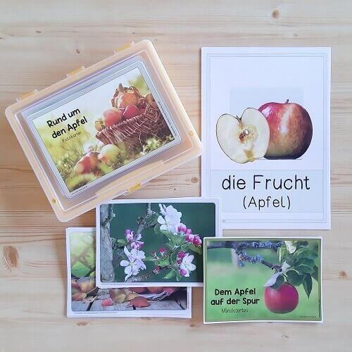 Photo of Blog |   Allerlei Material rund um den Apfel