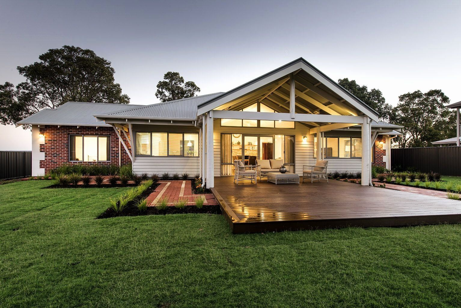 Australian Country House Plans New Love This Country Home Design With Tall Living Area Country Home Exteriors Countryside House Australian Country Houses