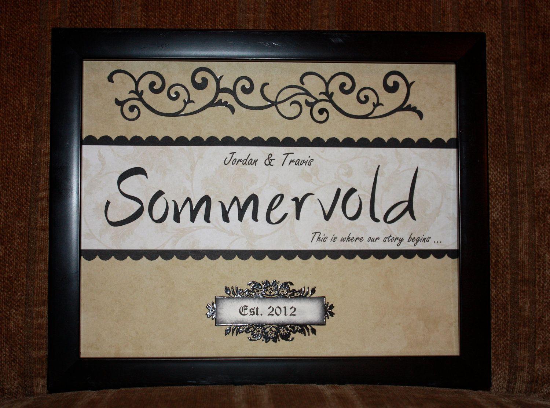 Personalized Handmade Wedding Gift Gift Ideas Pinterest