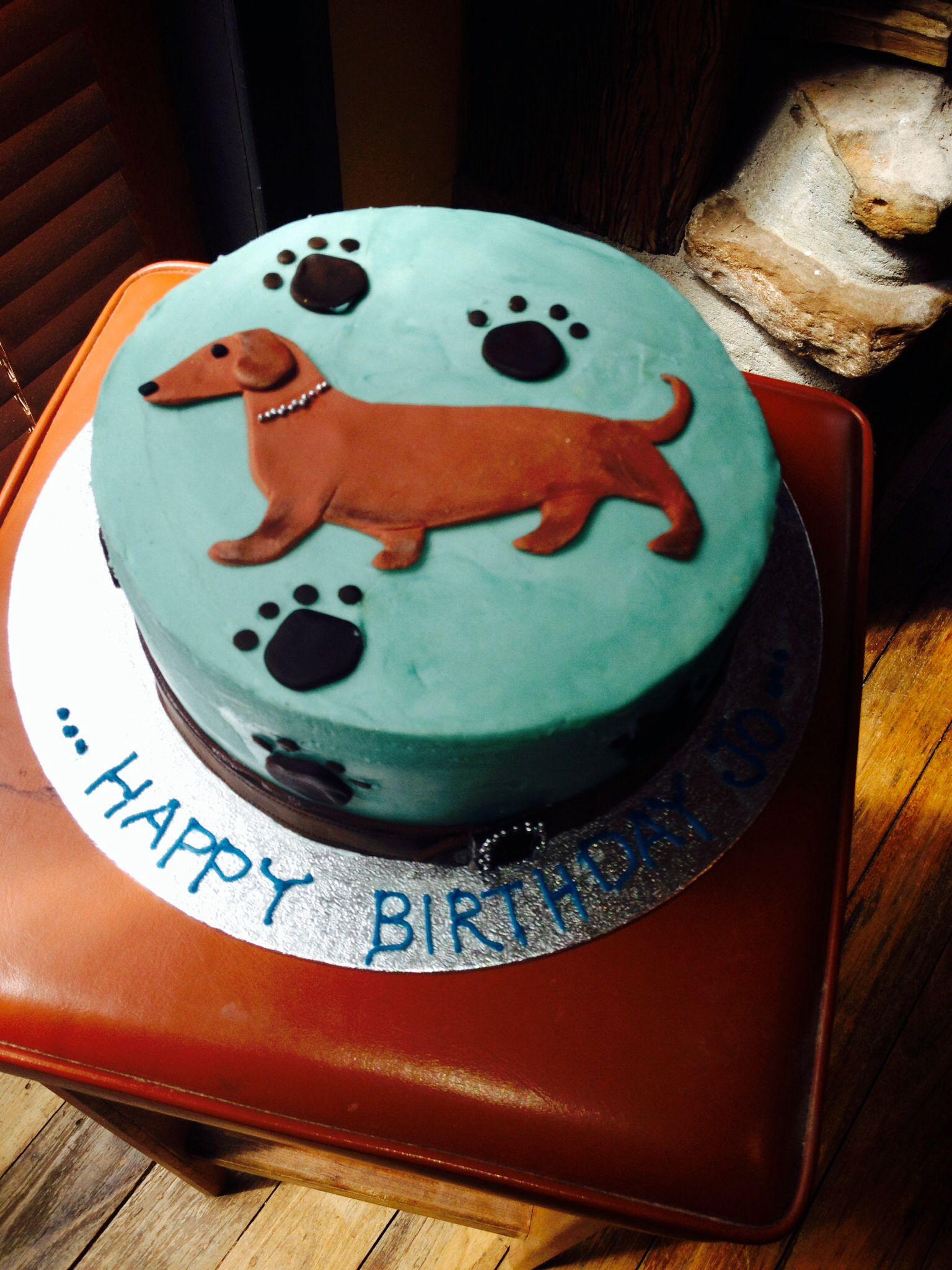 Sausage Dog Cake Fondant Dogs Pinterest Dog Cakes Cake And