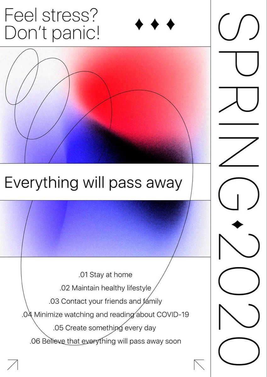 Covid poster series
