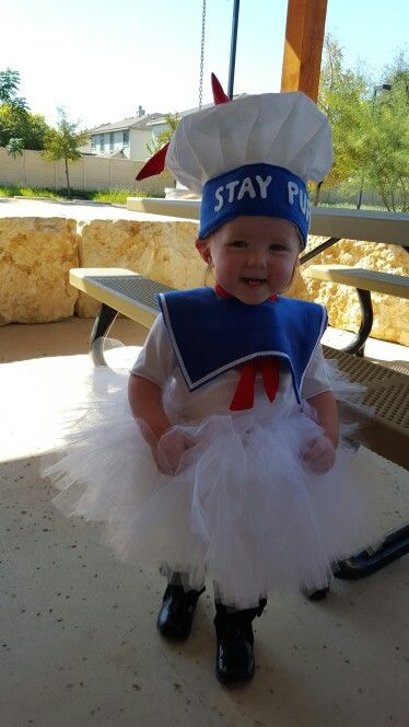 Ghostbusters stay puft marshmallow tutu costume