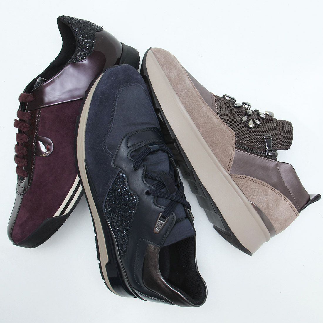 En liquidación 60% barato oficial mejor calificado No hay nada para sentirse cómoda como unas zapatillas GEOX ...