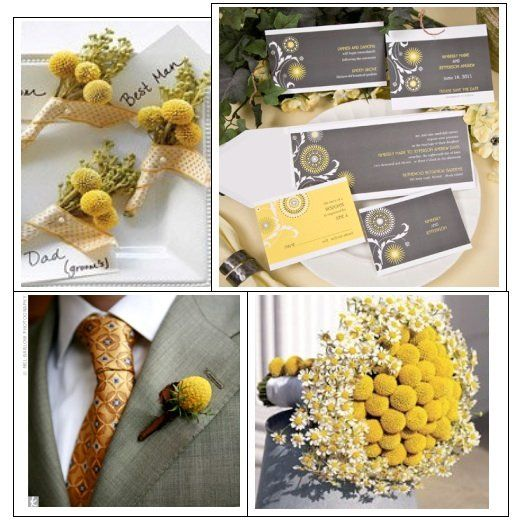 Yellow and Grey Wedding Theme | Weddings that I love | Pinterest ...