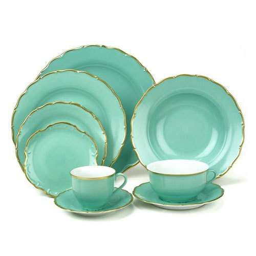 Anna Weatherley Colours Dinnerware Tiffany blue mint green plates and chargers gold  sc 1 st  Pinterest & MY ABSOLUTE FAVORITE PLACE SETTING Image detail for -Anna Weatherley ...