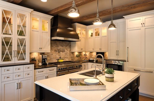 Kitchen Modern Traditional White   Google Search