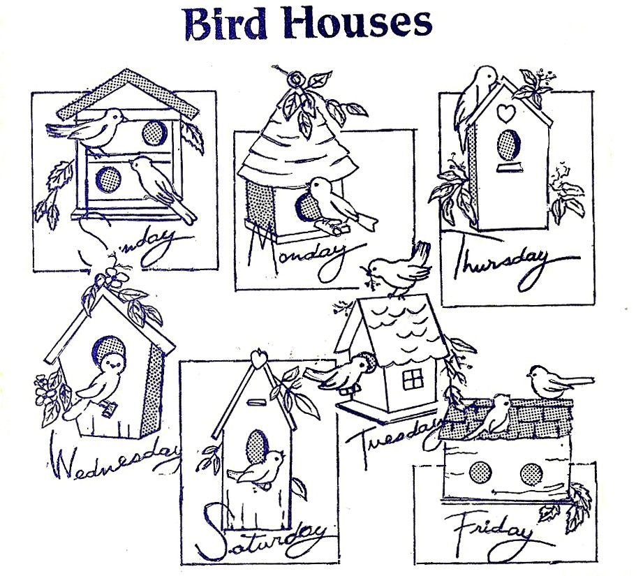 Vintage bird house hand embroidery pattern download digi transfer vintage bird house hand embroidery pattern download digi transfer 150 via etsy dt1010fo