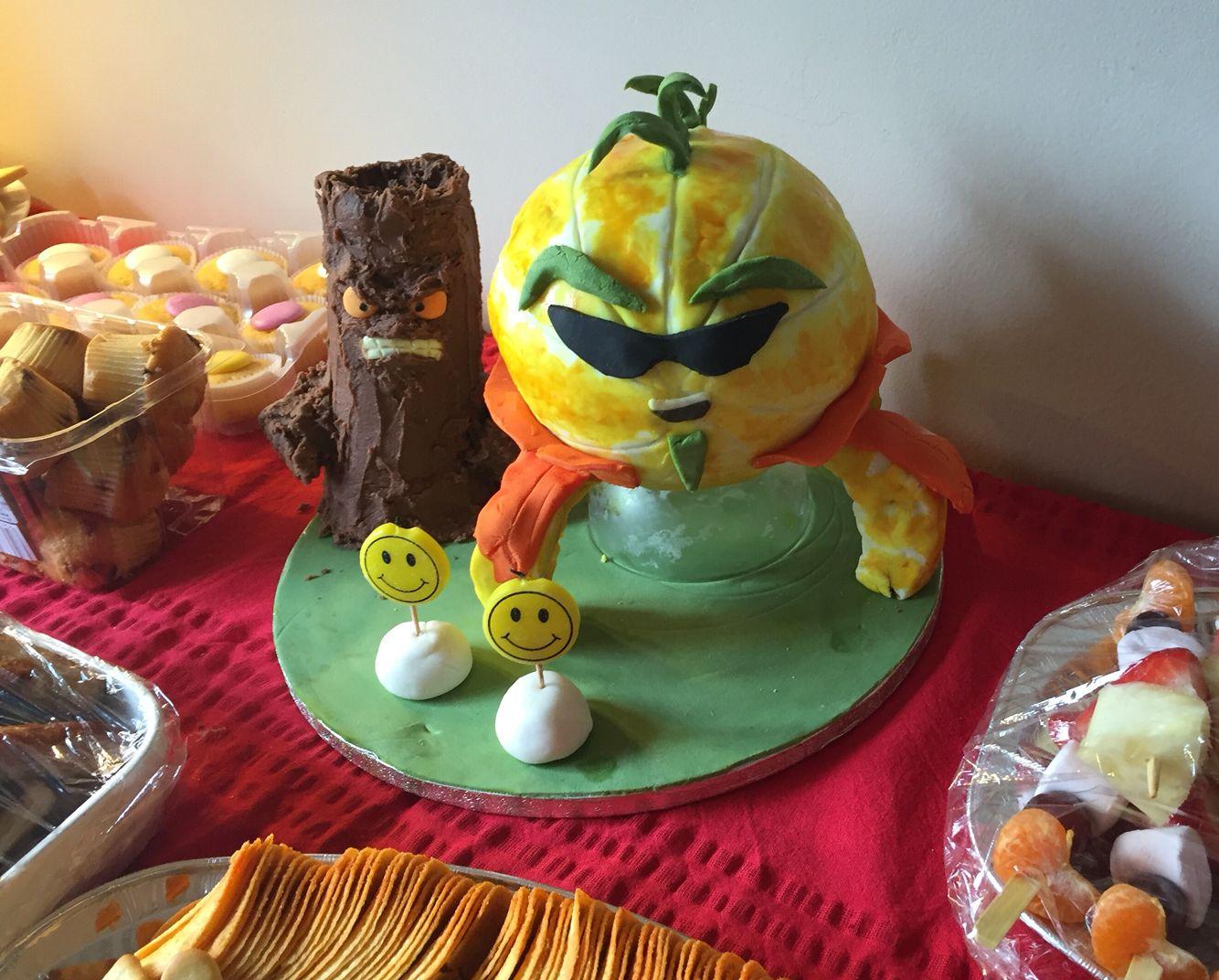 Agent citron and big stump boss cakes plant vs zombies - Plants vs zombies garden warfare 2 torchwood ...