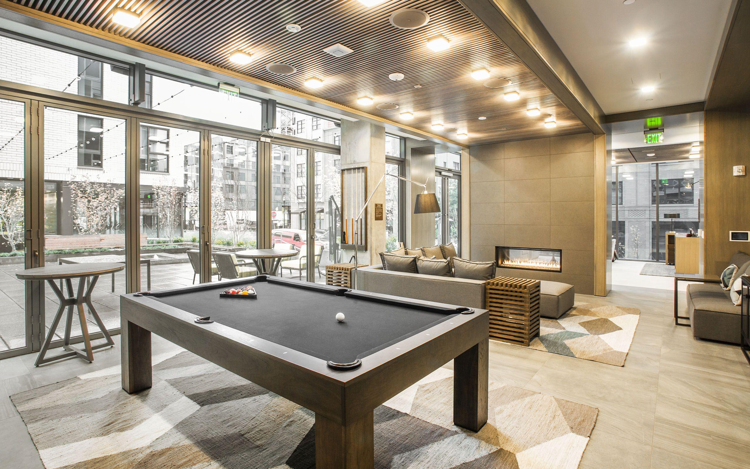 Gallery Block 17 Portland Snooker Room Multipurpose Room