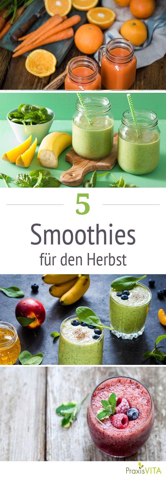 die besten smoothies f252r den herbst gesund abnehmen