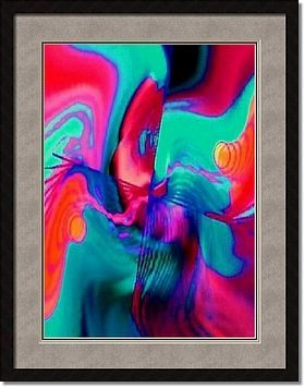 DRUNK KITTY By Tony WHINCUP framed artwork at ImageKind.com
