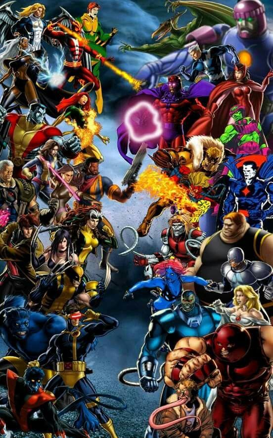 X Men Vs Avengers Marvel Comics Superheroes Marvel Fight 80s Cartoons