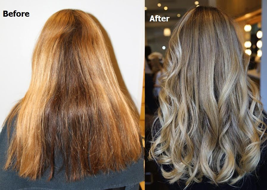 Pretty Highlights The After That Is Balayage Ombre
