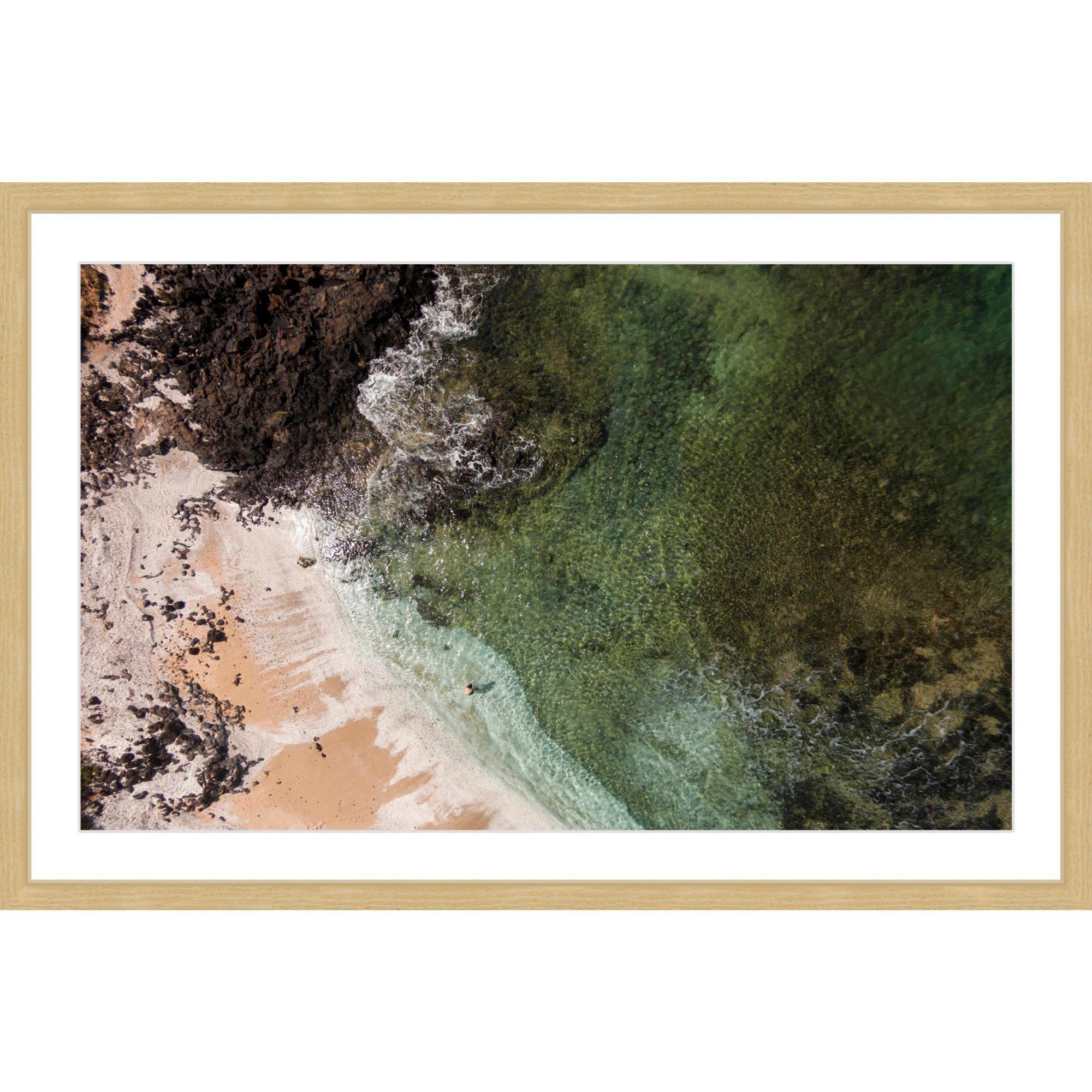 Marmont Hill - 'Sandy Lagoon' by Karolis Janulis Framed Painting Print