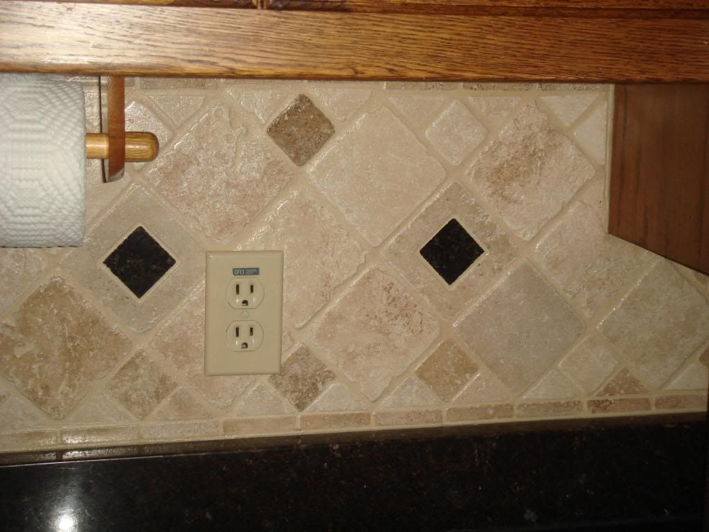 "Decorative Tile Inserts Custom Tumbled 4"" X 4"" Travertine Tile Squares For Accent Decorative 2""x2 Inspiration Design"