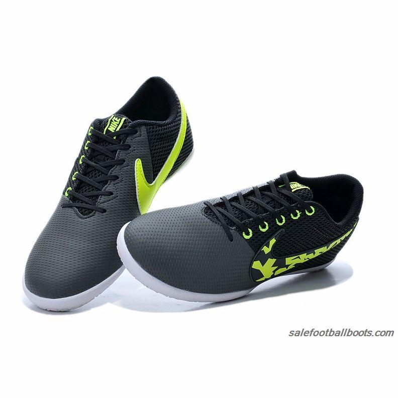 Nike Elastico Pro III IC Gray Black Green  61.99  f68b7a050bfd