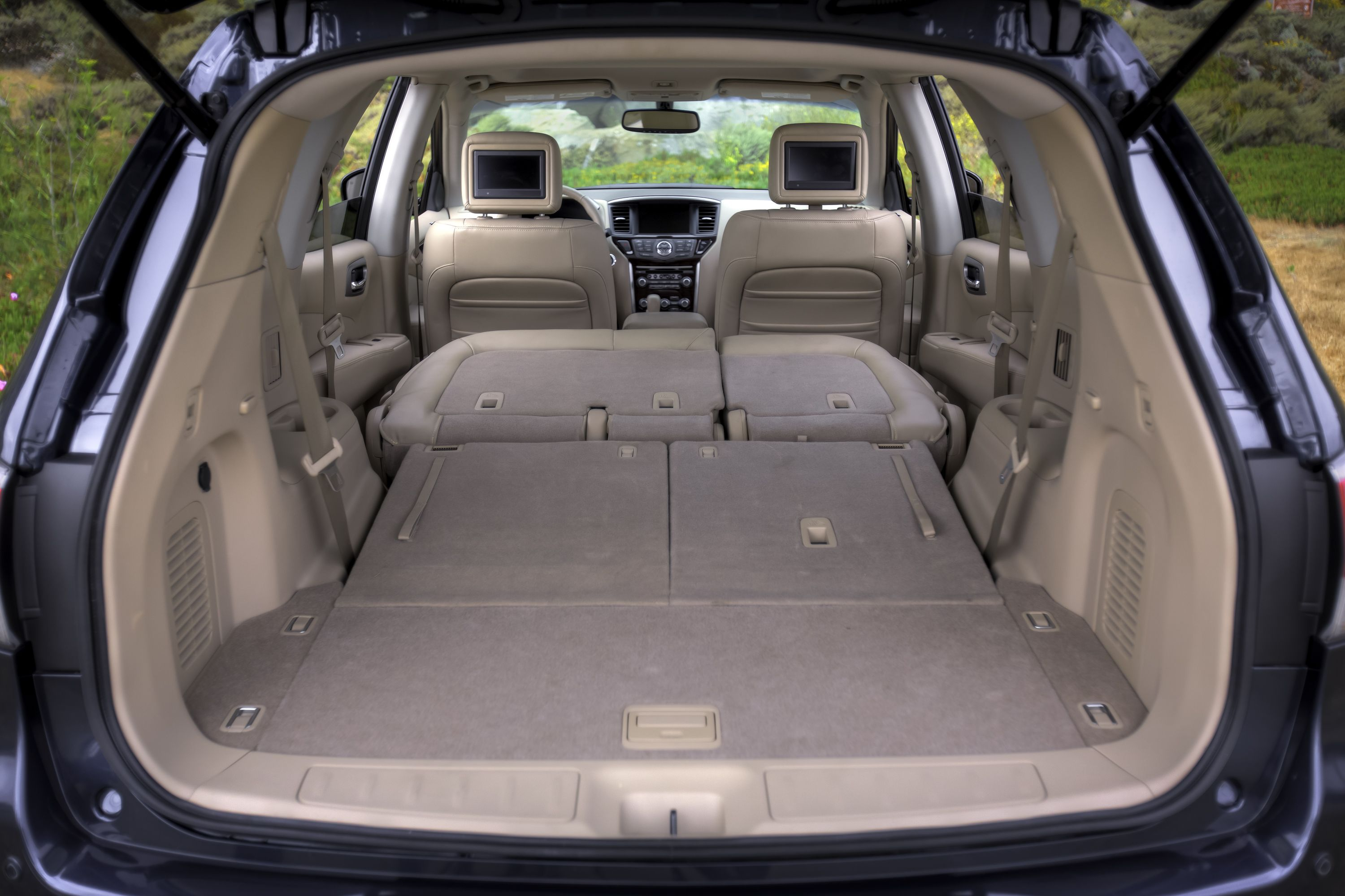 Folding 2nd And 3rd Row Seats In The All New Pathfinder Create A