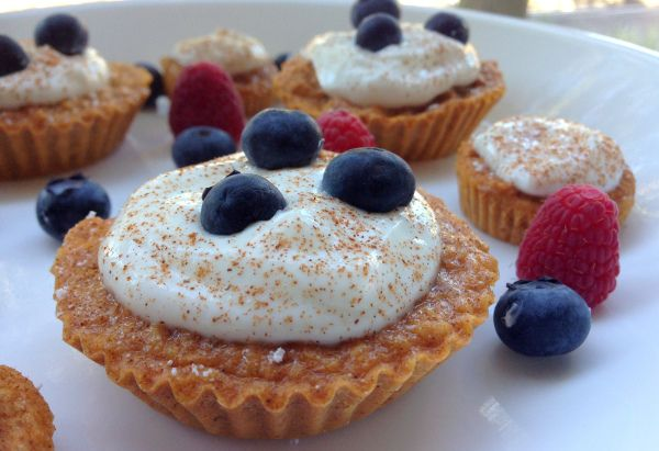 Oppskrift; sunne søtpotetmuffins