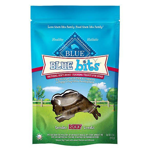 Blue Bits Natural Soft Moist Training Puppy Treat Dog Training