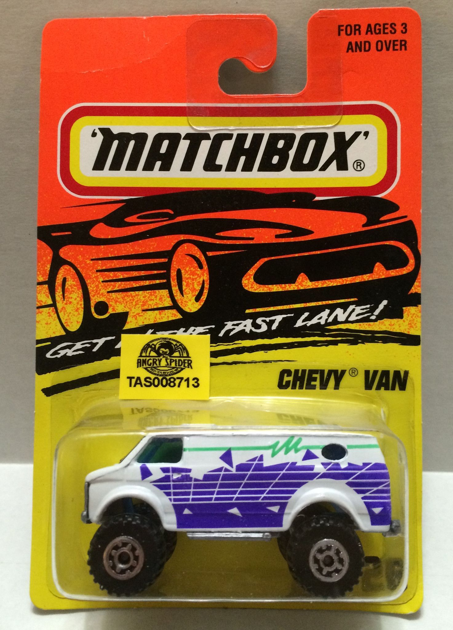 Car 3 toys  TAS  Matchbox Racing Car  Chevy Van  Chevy vans and Products