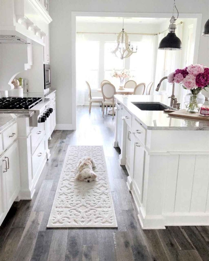 cool72 Popular Modern Farmhouse Kitchens Ideas To Make ...