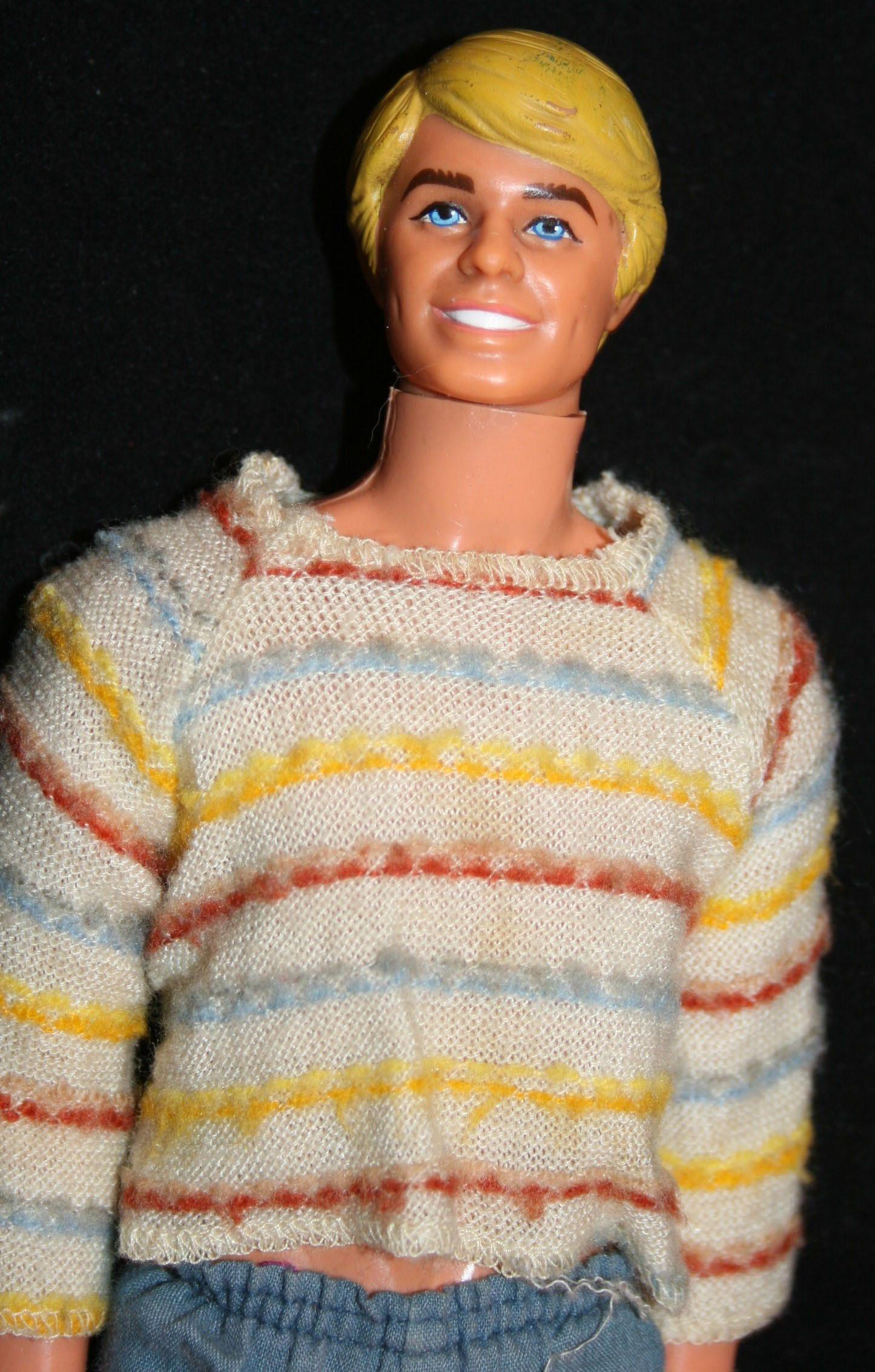 Mattel Barbie Ken Doll Blonde Hair Blue Eyes