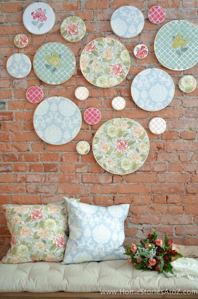 diy embroidery hoop wall art diy embroidery hoop wall on wall decor id=33275