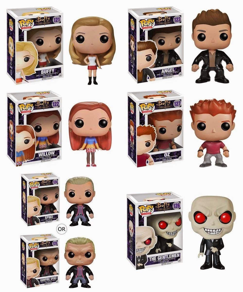 Buffy The Vampire Slayer Pop Television Vinyl Figures By