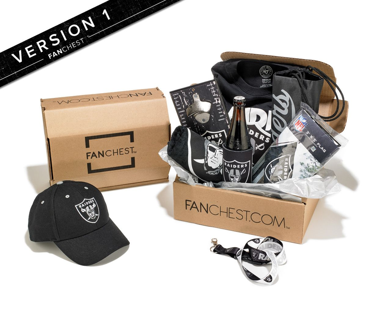 Oakland Raiders FANCHEST 3 - Mens - S | Oakland Raiders Gift Ideas ...