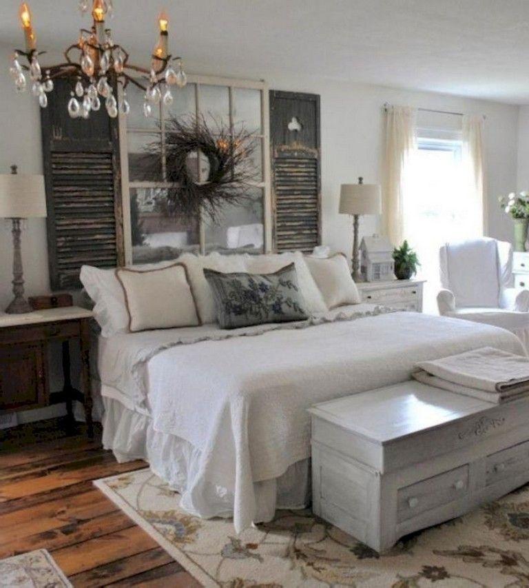 50 Wonderful Small Bedroom Ideas For Couples | Farmhouse ...