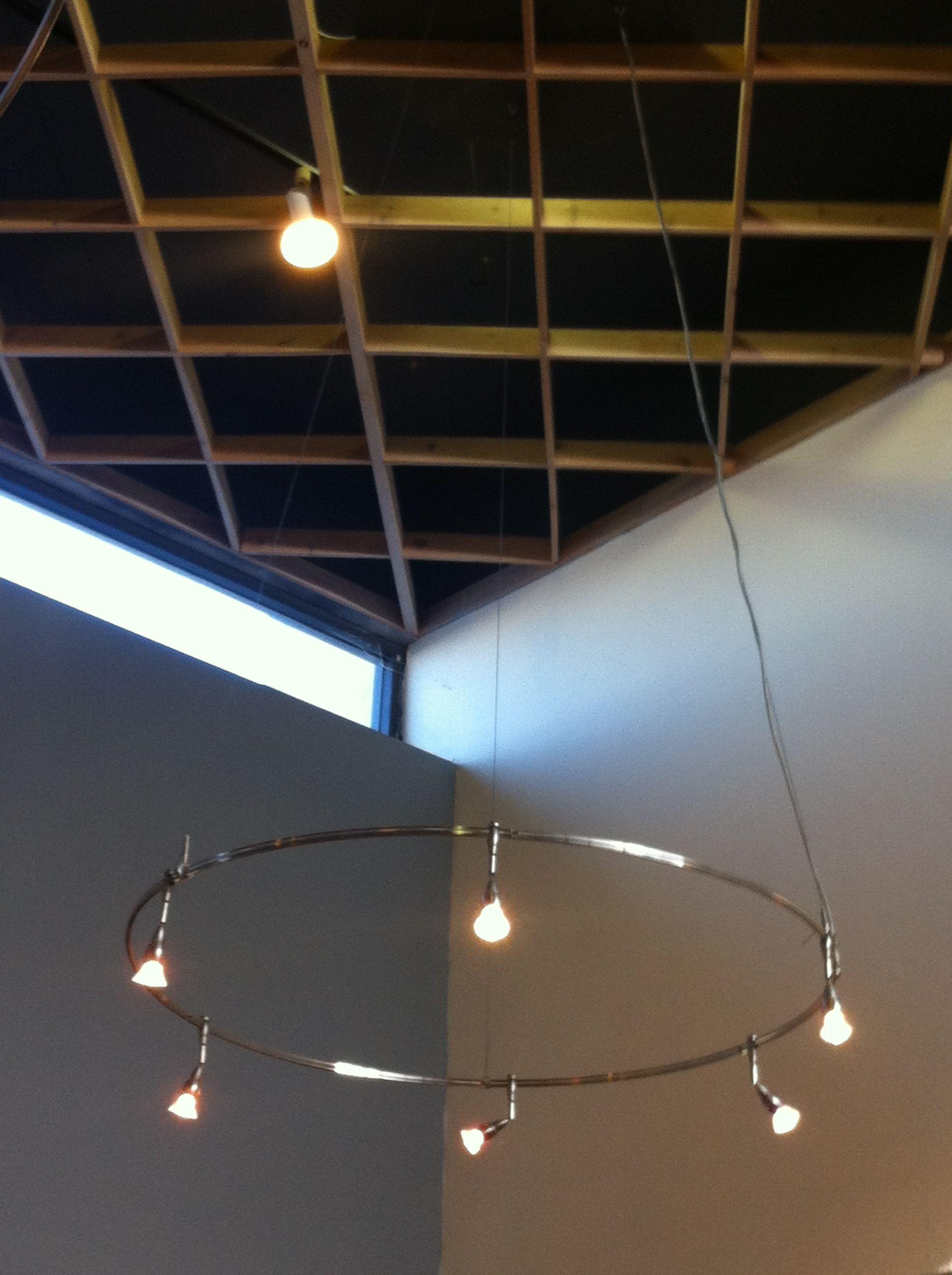 Circular track lighting For the Home Pinterest