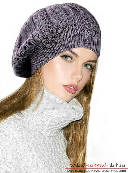 как связать шапку вязание шапки спицами схемы и узоры для шапок