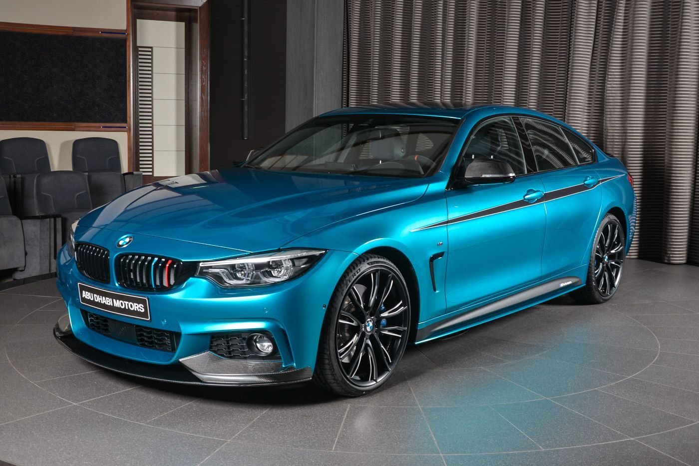 this bmw 440i gran coupe in snapper rocks blue is stunning. Black Bedroom Furniture Sets. Home Design Ideas