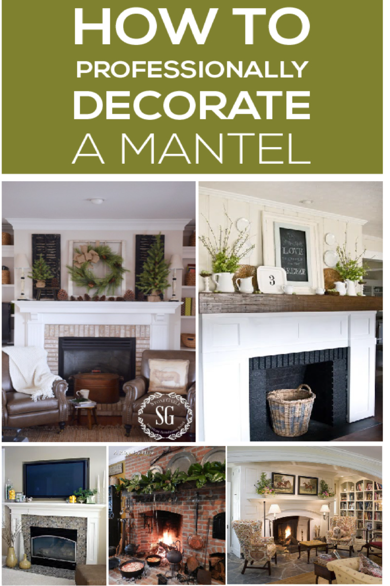 Beau Learn How To Decorate Your Home Mantel Professionally