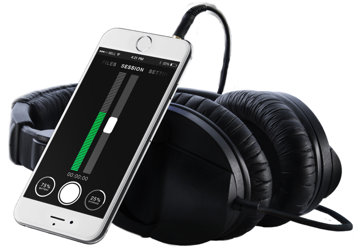 AirLinc Wireless Mic App for iPhone AirLinc App