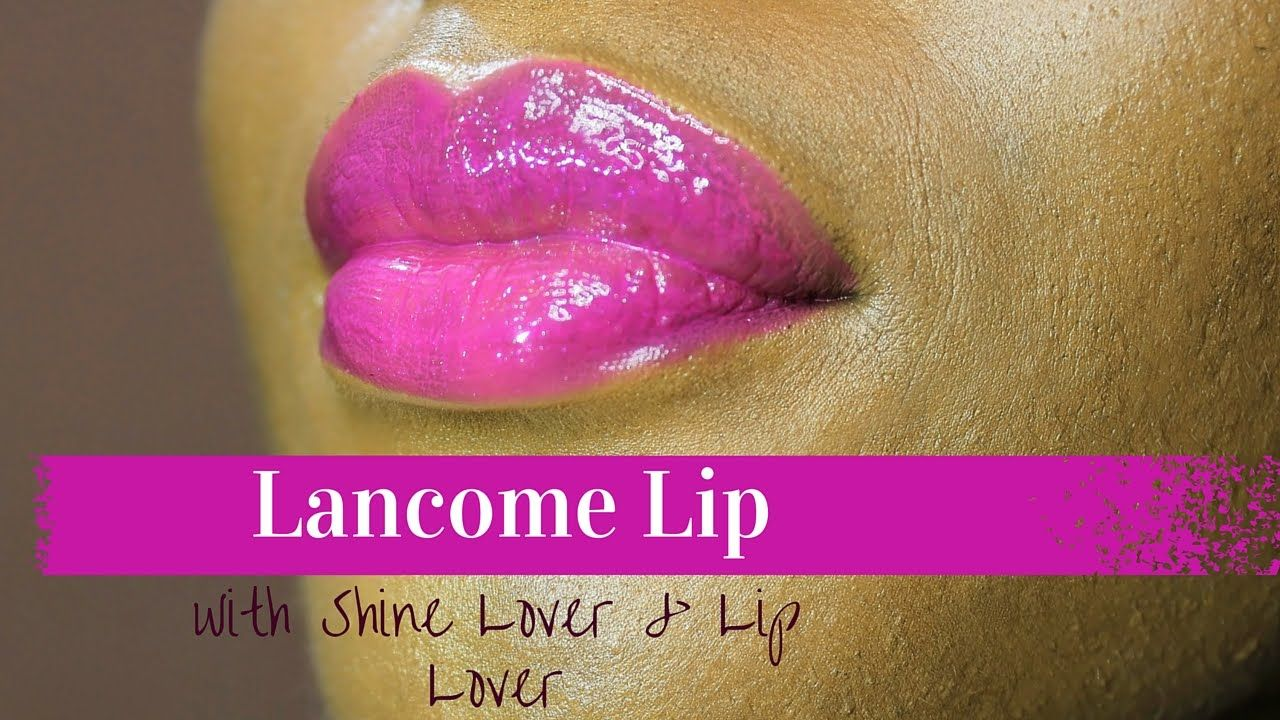 Lancome Pink Lip Tutorial | with Lip Lover 357 & Shine Lover 346