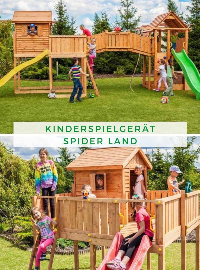 MAXI SET Kinderspielgerät SPIDER LAND in 2020 Spielhaus
