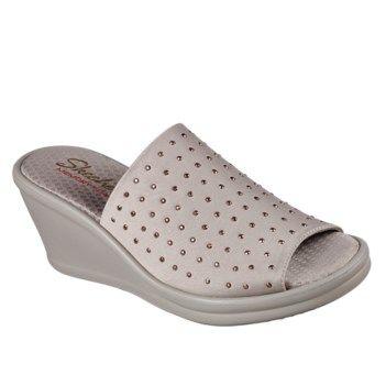 Rumblers Memory Foam Slide Wedge Sandal