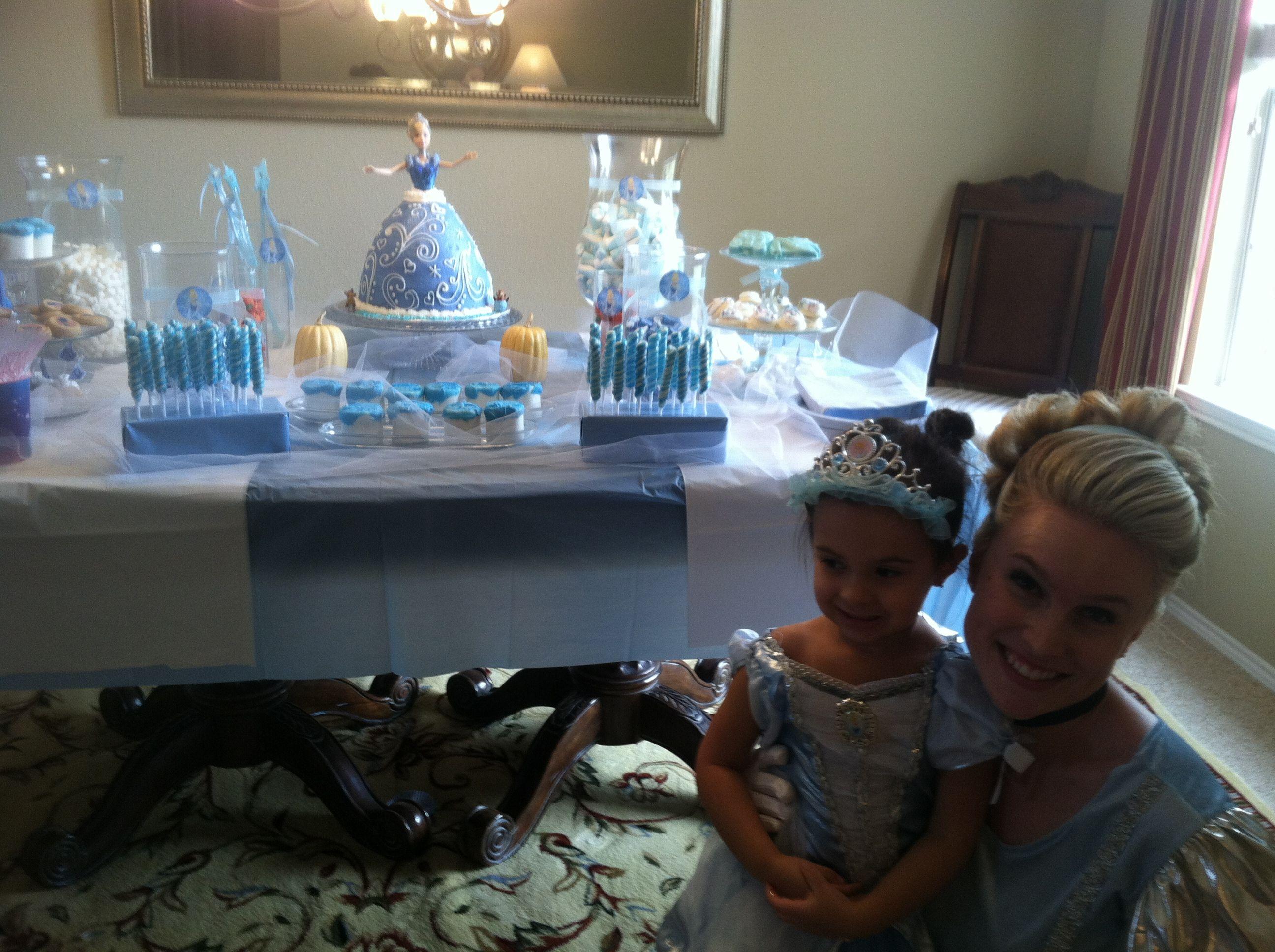Audrey's cinderella princess birthday party!