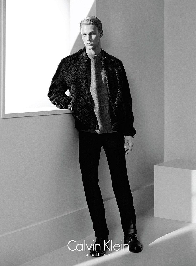 Calvin Klein Platinum Fall Winter 2014 Campaign David Sims Calvin Klein Fashion