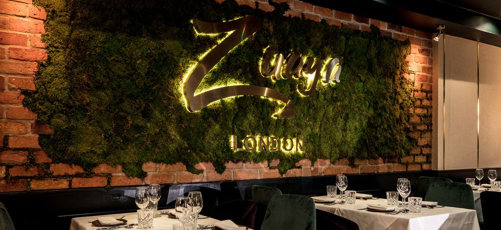 Restaurant Review Zuaya, High Street Kensington in London