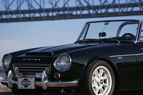 Photo Alvins Datsun Roadster Image Datsun - Sports cars 8 letters