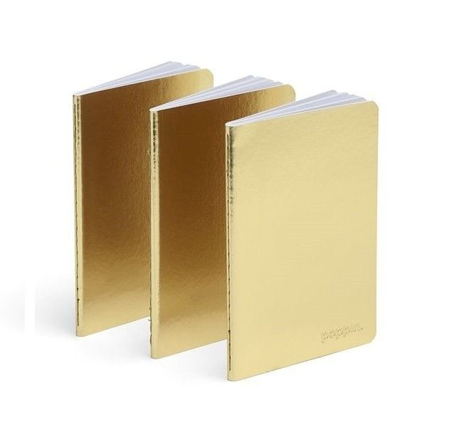 Stay Gold With 17 Gilded Office Accessories Gold Office Mini Notebooks Office Accessories